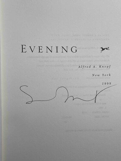 EVENING by Minot, Susan