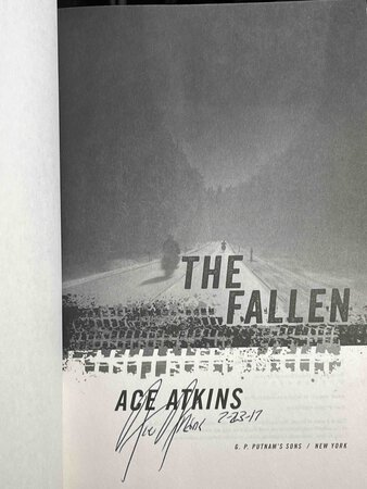 THE FALLEN. by Atkins, Ace