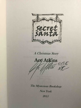 SECRET SANTA. by Atkins, Ace