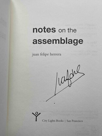 NOTES ON THE ASSEMBLAGE. by Herrera, Juan Felipe.