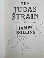 THE JUDAS STRAIN. by Rollins, James.