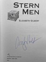 STERN MEN. by Gilbert, Elizabeth.