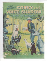 Walt Disney's CORKY AND WHITE SHADOW: A Day to Celebrate. by Haas, Dorothy.