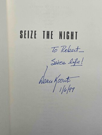 SEIZE THE NIGHT by Koontz, Dean