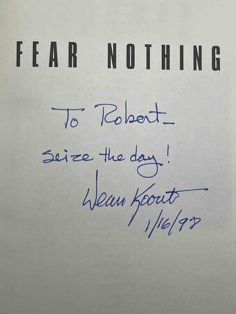 FEAR NOTHING. by Koontz. Dean.