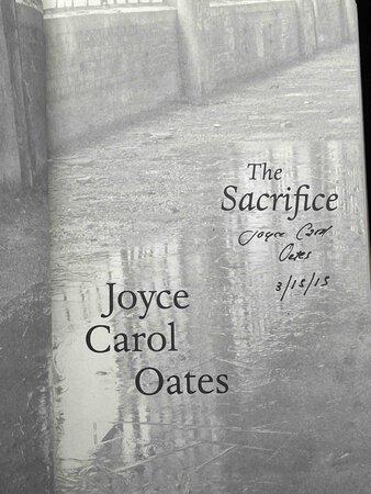 THE SACRIFICE. by Oates, Joyce Carol.