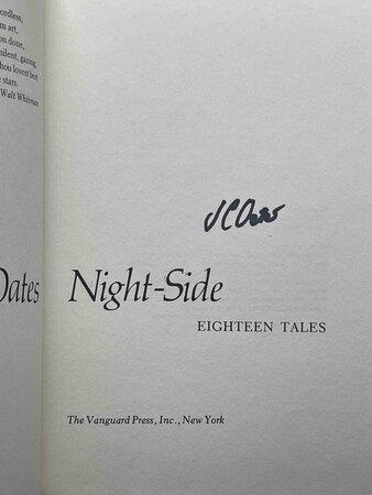 NIGHT-SIDE: Eighteen Tales. by Oates, Joyce Carol.
