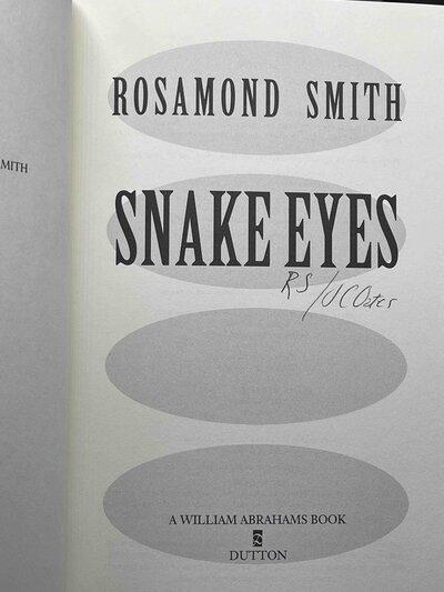 SNAKE EYES by Smith, Rosamond (pseudonym for Joyce Carol Oates)