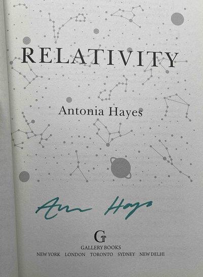 RELATIVITY. by Hayes, Antonia.