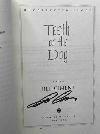 TEETH OF THE DOG. by Ciment, Jill.