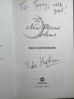THE NEW MOON'S ARMS. by Hopkinson, Nalo.