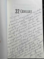 32 CADILLACS. by Gores, Joe (1931-2011)