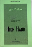 HIGH HAND. by Phillips, Gary.