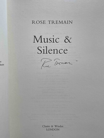MUSIC AND SILENCE. by Tremain, Rose.