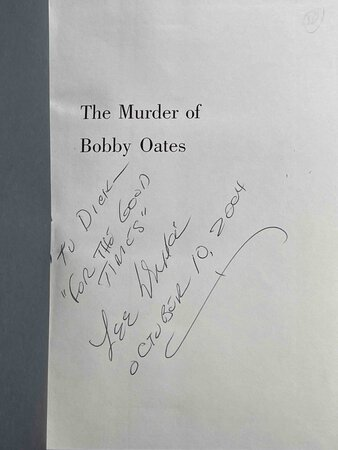 THE MURDER OF BOBBY OATES. by Drake, Lee.