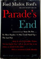 PARADE'S END. by Ford, Ford Madox; Introduction by Robie Macauley.