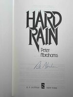 HARD RAIN. by Abrahams, Peter.