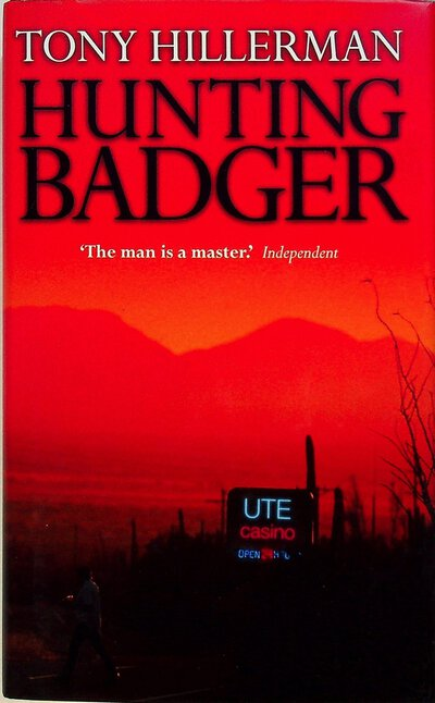 HUNTING BADGER. by Hillerman, Tony