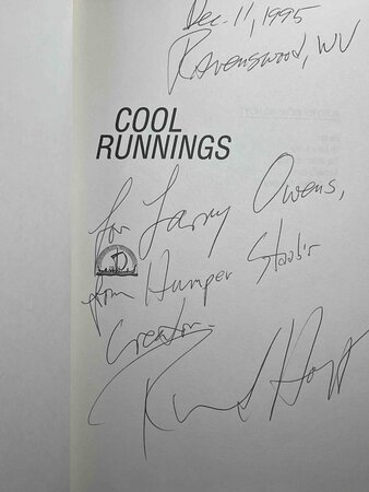 COOL RUNNINGS. by Hoyt, Richard.