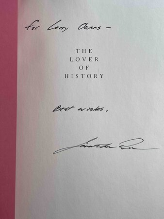 THE LOVER OF HISTORY. by Dee, Jonathan.