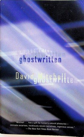 GHOSTWRITTEN. by Mitchell, David.