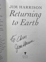 RETURNING TO EARTH. by Harrison, Jim.
