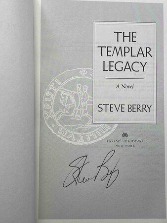 THE TEMPLAR LEGACY. by Berry, Steve.
