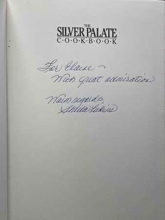THE SILVER PALATE COOKBOOK. by Rosso, Julee and Sheila Lukins.