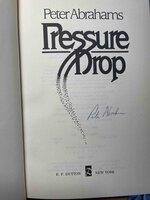 PRESSURE DROP. by Abrahams, Peter.