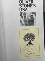 OLIVER STONE'S U.S.A: Film, History, and Controversy. by [Stone, Oliver, signed bookplate] Toplin, Robert Brent, editor.