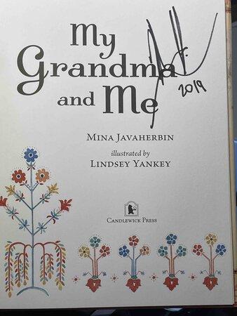 MY GRANDMA AND ME. by Javaherbin, Mina.