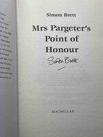 MRS PARGETER'S POINT OF HONOUR. by Brett, Simon.