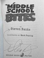 MIDDLE SCHOOL BITES. by Banks, Steven.