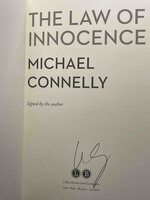 THE LAW OF INNOCENCE. by Connelly, Michael.