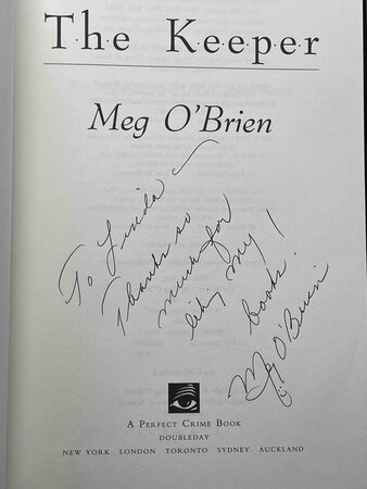 THE KEEPER. by O'Brien, Meg.