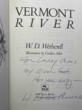 VERMONT RIVER. by Wetherell, W. D.