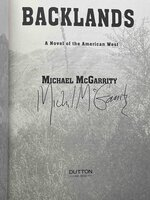 BACKLANDS: A Novel of the American West. by McGarrity, Michael.