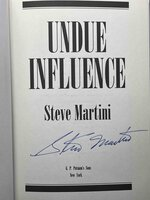 UNDUE INFLUENCE. by Martini, Steve.