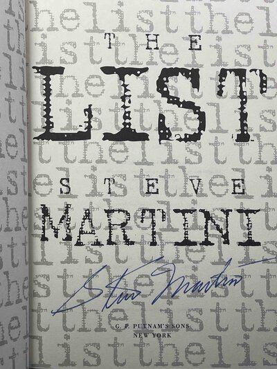 THE LIST. by Martini, Steve.