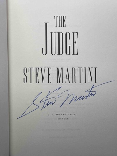 THE JUDGE. by Martini, Steve.