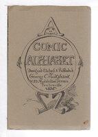 GEORGE CRUIKSHANK'S COMIC ALPHABET. by Cruikshank, George.