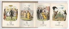 Another image of GEORGE CRUIKSHANK'S COMIC ALPHABET. by Cruikshank, George.