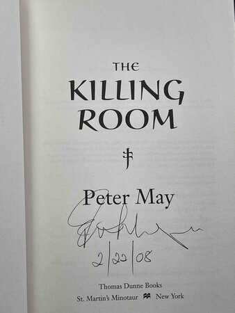 THE KILLING ROOM. by May, Peter.