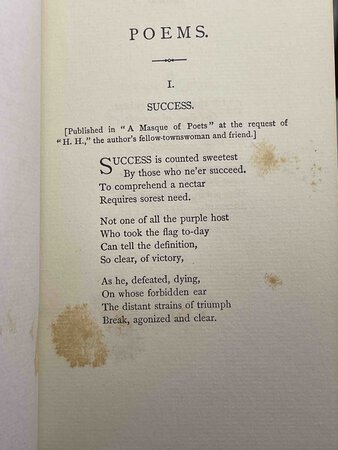 POEMS. by Dickinson, Emily.