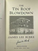 TIN ROOF BLOWDOWN: A Dave Robicheaux Novel. by Burke, James Lee.