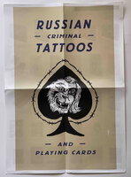 RUSSIAN CRIMINAL TATTOOS AND PLAYING CARDS: PROMOTIONAL POSTER.