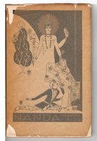 NANDA: A Grove Play. by [Bohemian Club] Holme, Garnet, author, Edward F. Schneider, composer.