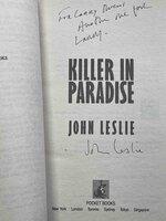 KILLER IN PARADISE. by Leslie, John