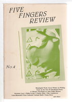 FIVE FINGERS REVIEW: No. 4, 1986. by Addonizio, Kim and Lisa Bernstein, editors.
