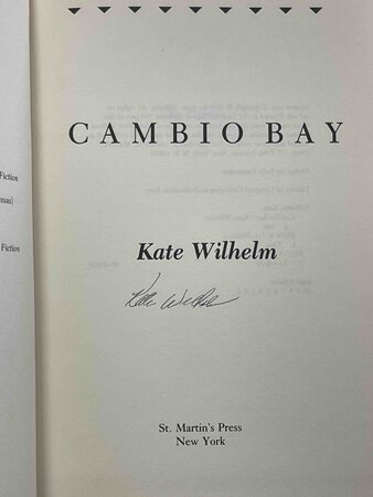 CAMBIO BAY. by Wilhelm, Kate.